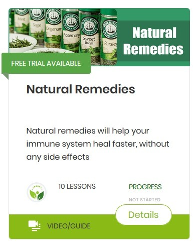 Natural remedies-course