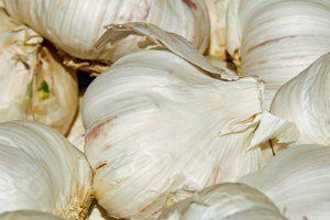 Natural Remedies herbs used for healing garlic