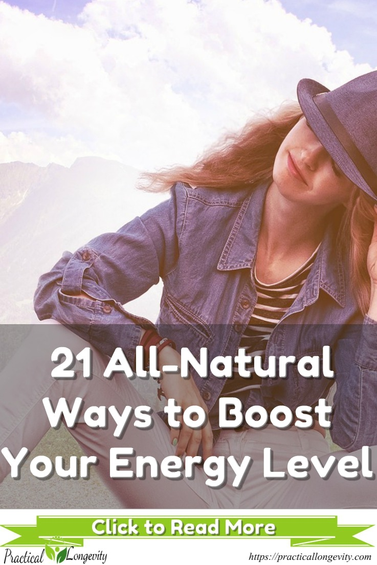 21 Natural Ways To Boost Energy - Food, Drink & Lifestyle