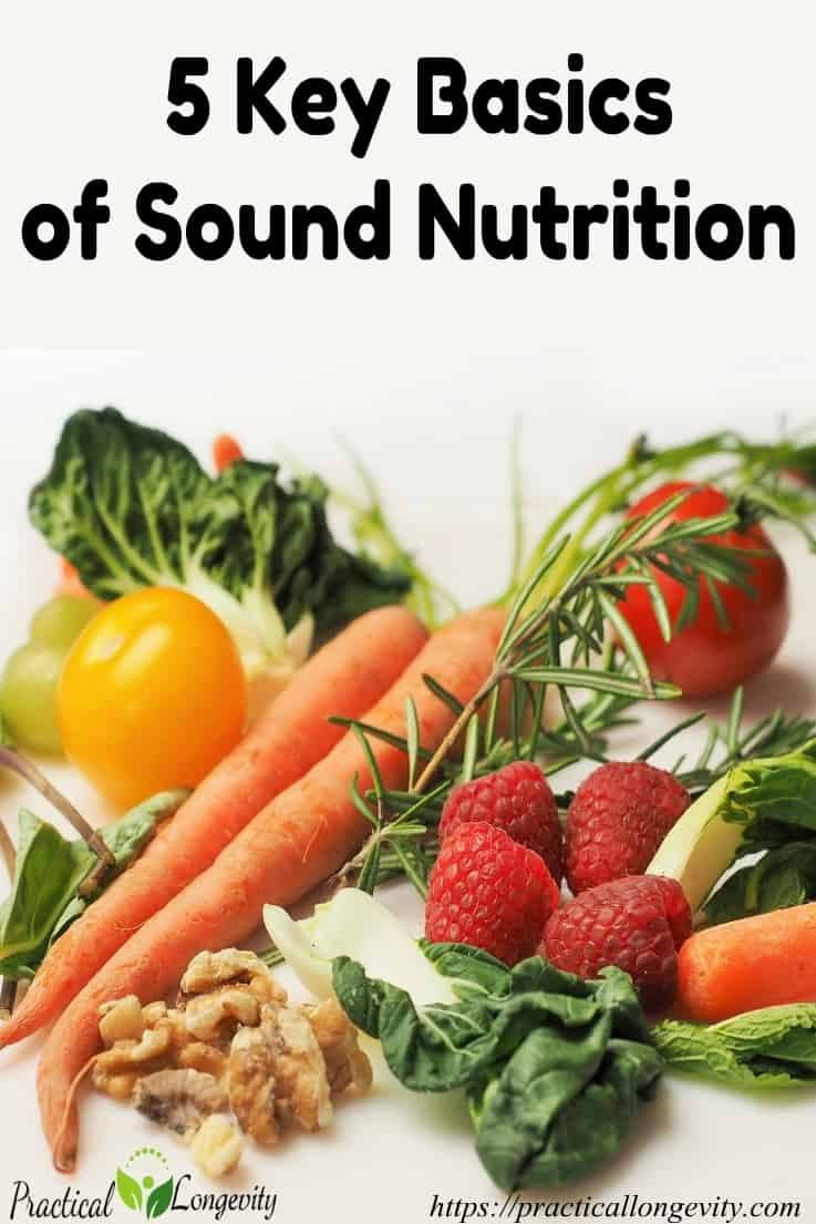 Key Basics Of Sound Nutrition for Health and Growth