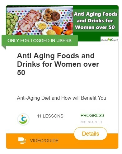 Anti aging foods and drinks for women over 50