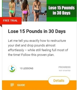 How to lose 15 pounds in 30 days