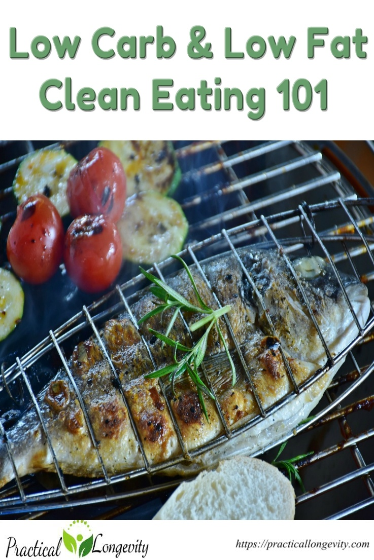 Low Carb and low-fat Clean Eating 101. Learn what foods are good for you and what aren't, how to cook healthier foods, and get used to new, healthier habits and behaviors. We'll help you find some clever ways to change up your diet and get you eating cleaner, low fat foods.