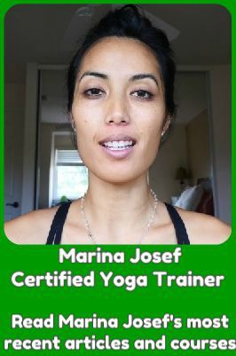 Marina Josef - certified yoga trainer