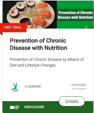 Prevention of Chronic Disease with Nutrition