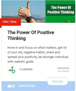 The Power of positive thinking-course