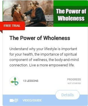 The Power of Wholeness-Holistic Focus on Wellness-course self sabotaging behaviors