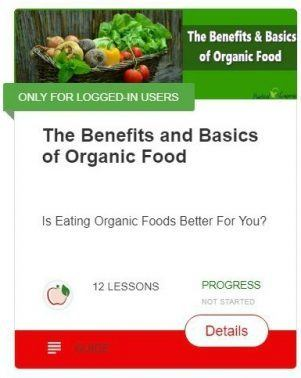 The benefits and Basics of organic food
