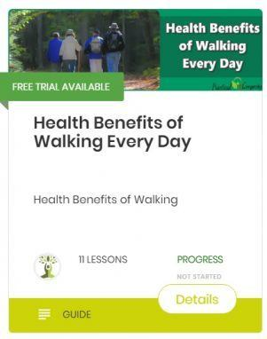 health benefits of walking every day