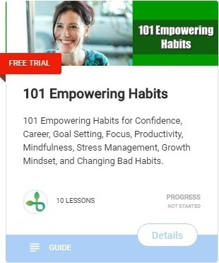 101 empowering habits of happy people