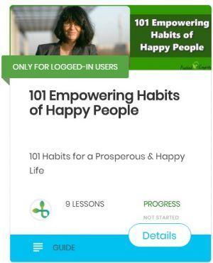 101 empowering habits of happy people, stopped emotional eating