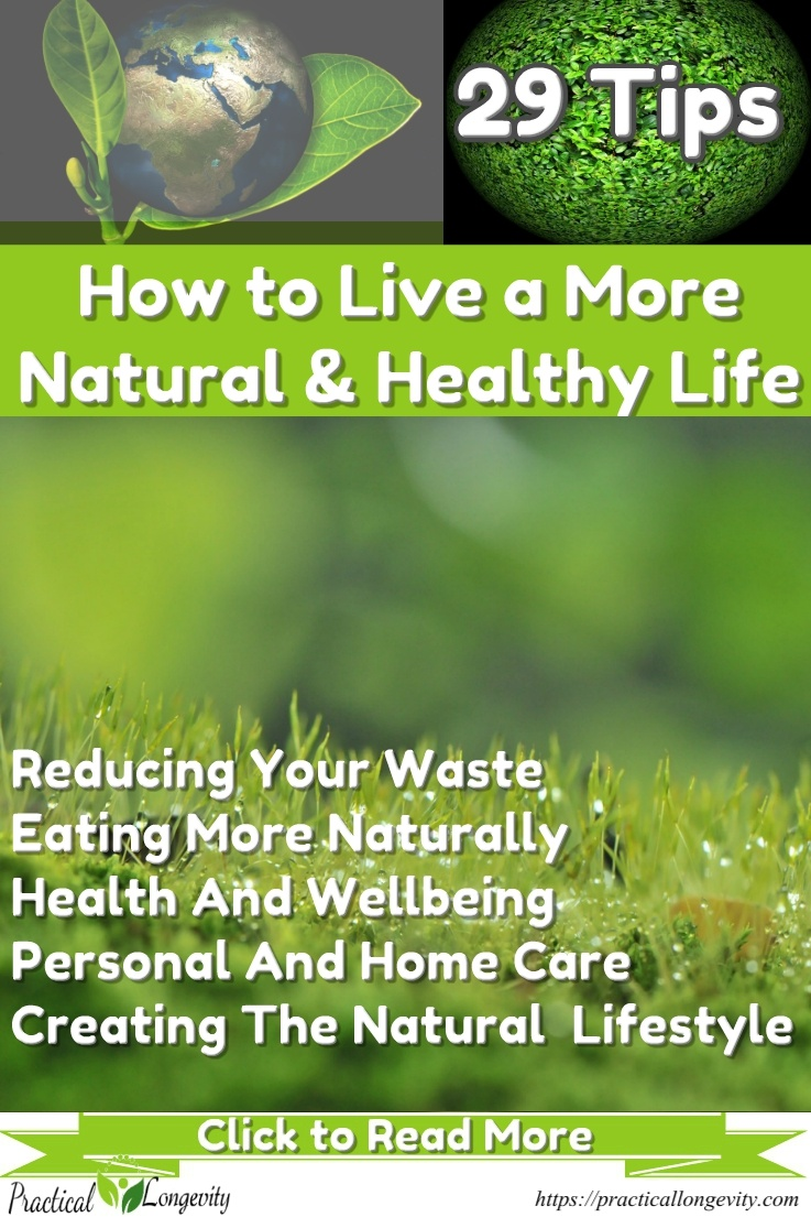 29 Tips for Creating a Natural Lifestyle