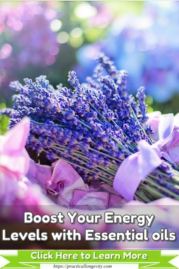 Using essential oils can influence your stress level, blood pressure, immune system, heart rate, and respiration, all of which play a role in your energy level. Many essential oils are adaptogens, their properties adapt to each user, and the benefit you may derive is likely different. This means you can test out and find the right essential oil or oils that work best for you.