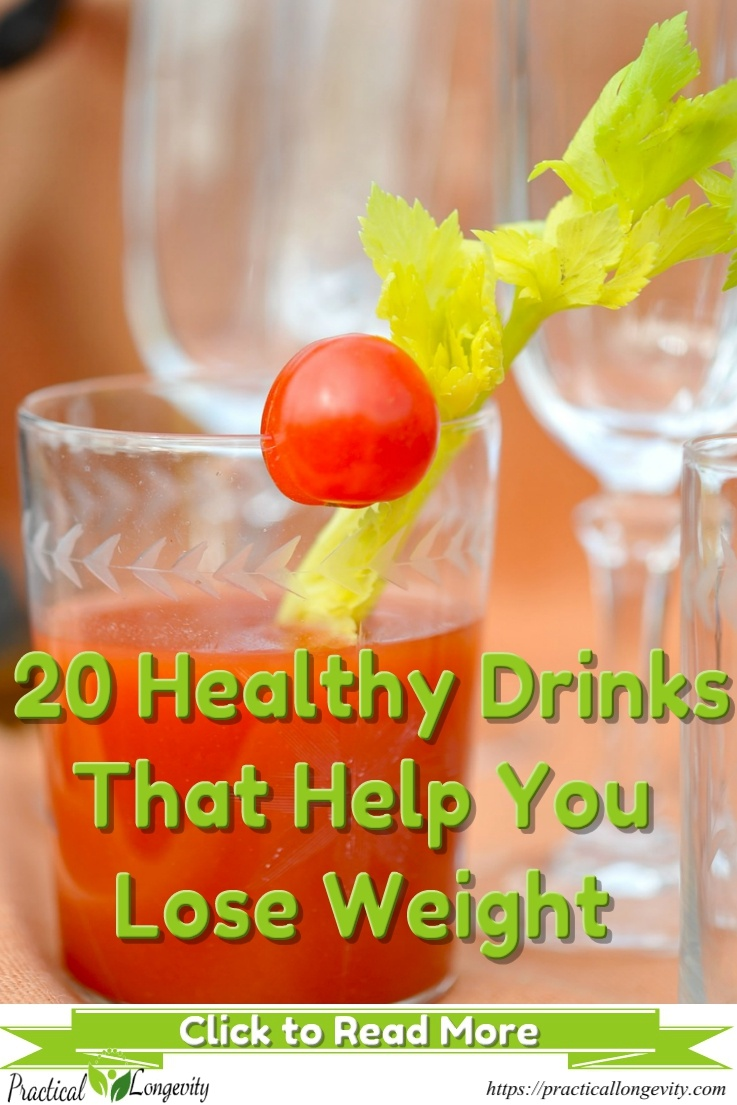There's a well-known saying that 90% of abs are made in the kitchen. So what you drink and eat is crucial to getting those tight, flat abs in a healthy, natural and organic way. Use those 20 drinks that help you lose weight and boost your energy