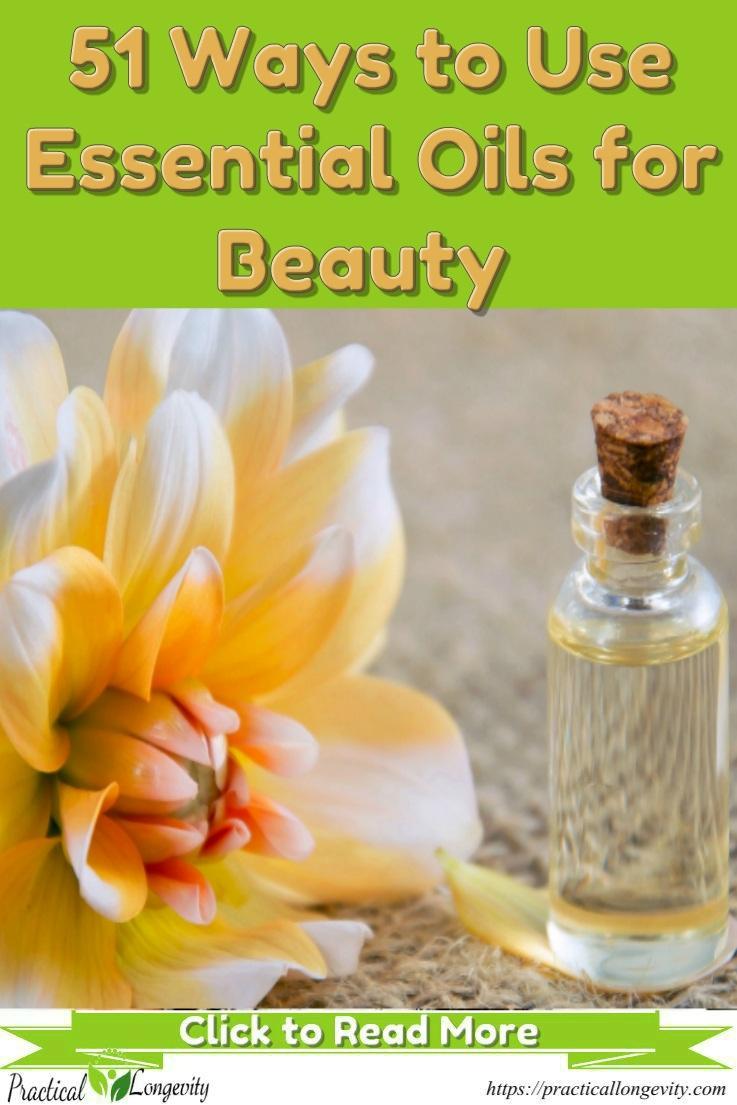 51 Ways to use Essential Oils in your Beauty Routines. Essential oils for beauty are awesome and inexpensive additives that can greatly enhance your daily routine. Just reap their natural and wonderful benefits