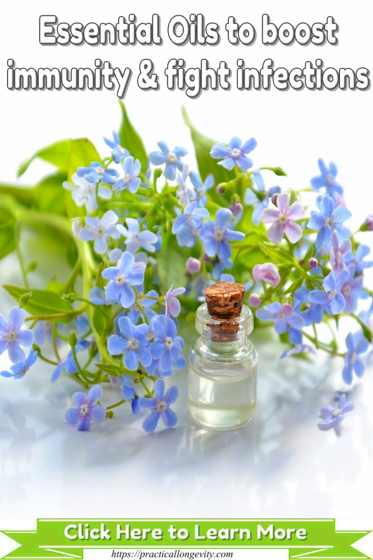Essential Oils to Boost Immunity and Fight Infections