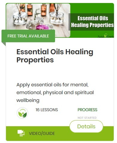 Essential oils healing properties