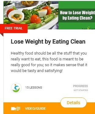 lose weight by eating clean