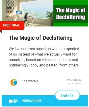 the magic of decluttering stop self sabotaging behaviors
