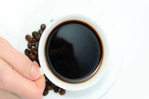 a freshly brewed black coffee-an excellent way to start the day