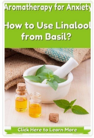 Aromatherapy for Anxiety using Linalool from Basil