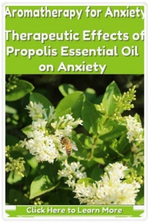Therapeutic Effects of Propolis Essential Oil on Anxiety