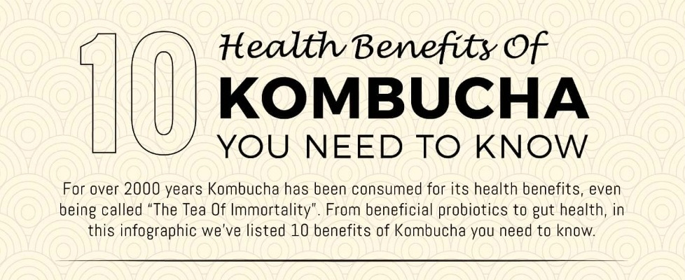 Get Your Body to Optimal Health with Kombucha