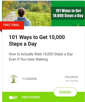 101 Ways to Get 10,000 Steps a Day