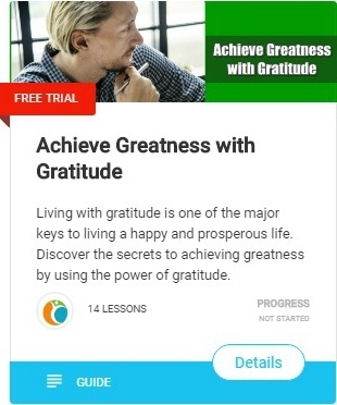 New Year's Resolution Ideas for 2020 -achieve greatness by using the power of gratitude.