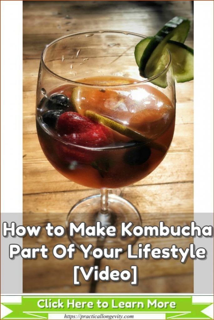 "Kombucha is often referred to as ""The Tea of Immorality"" because of all of the healthy, life giving features and benefits that it has associated with it."