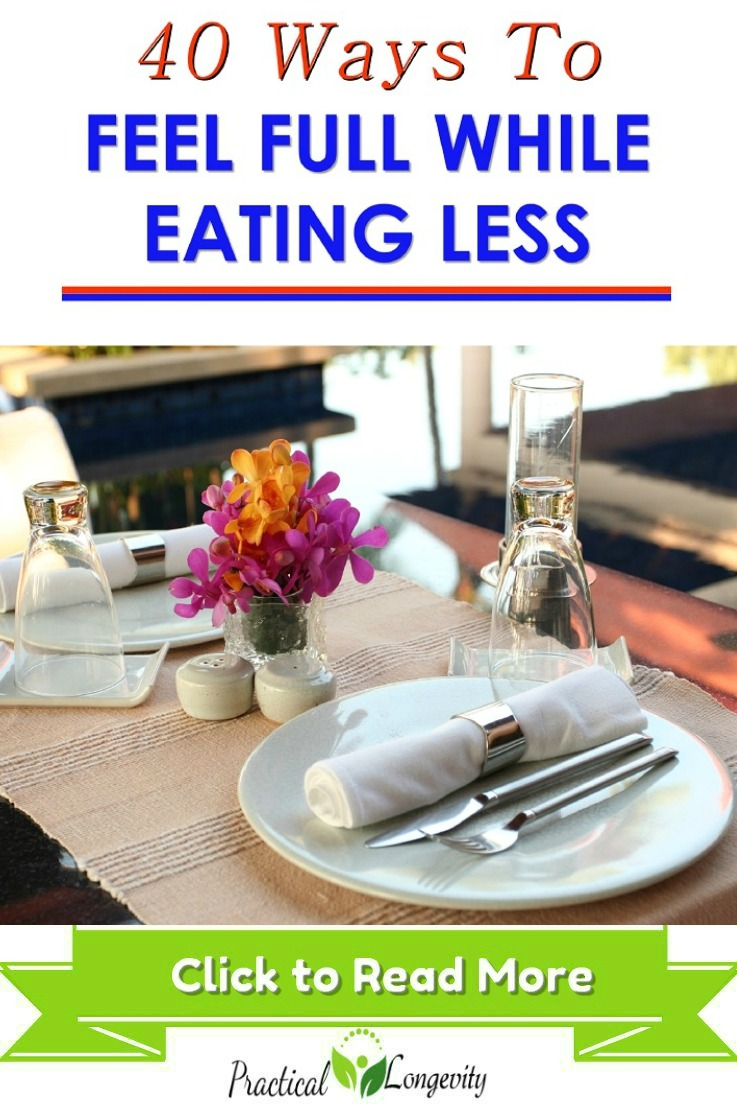 How to Feel Full While Eating Less? How can you function properly if you don\'t feel satiated after eating and you countdown the minutes until your next meal? It\'s no way to live, but there\'s good news. It doesn\'t have to be that way, there are plenty of tips, and tricks that can help you feel fuller even while eating less. Say goodbye to those loud stomach growls and the constant cravings.