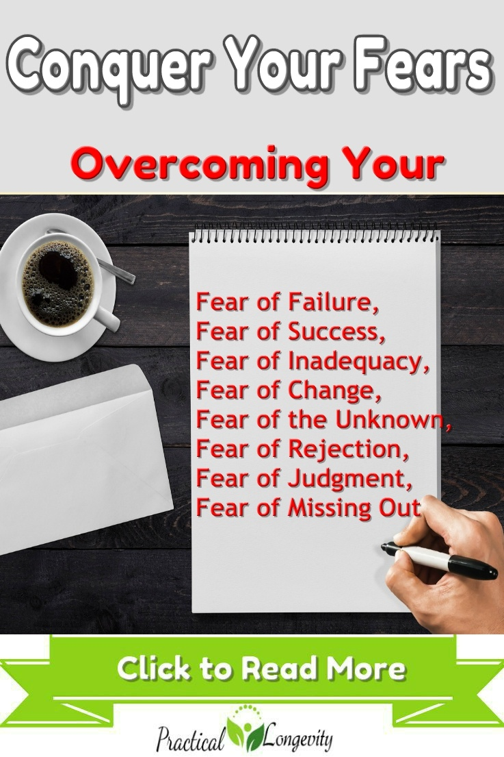 Conquer Your Fears Learning to overcome your fears is an essential life skill. Conquering anxiety, pushing past hesitation, and creating your own path toward success can help you achieve your dreams, despite the fears that may be lurking in your mind.