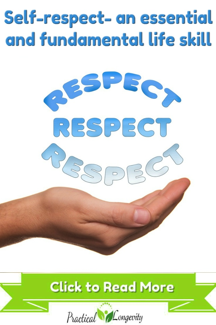 Self-respect is not just about how you think and feel about yourself, it is about what you do and say that indicates to others how you feel about yourself. Because self-respect is based on action, it is much easier to change. And once you correct your actions, your thoughts and feelings can follow. The action is a potent force for making positive changes in your life. When you combine actions with positive thinking, you can change yourself, your life, and how others view and treat you.