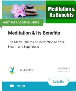 meditation and its benefits video cource