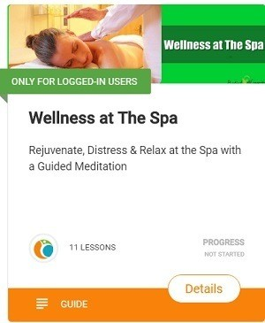 How to Relieve Anxiety wellness at the spa Rejuvenate, Distress & Relax at the Spa with a Guided Meditation
