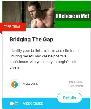 Bridging The Gap-I believe in me
