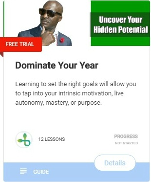 Dominate Your Year 2019 The step by step guide to finally crushing your goals and reaching new heights