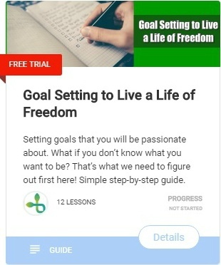 Simple step-by-step guide to achieve any goal you want in life Goal setting to live a life of freedom