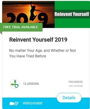 Reinvent Yourself-Get your free Checklist 30 Day Challenge Workbook