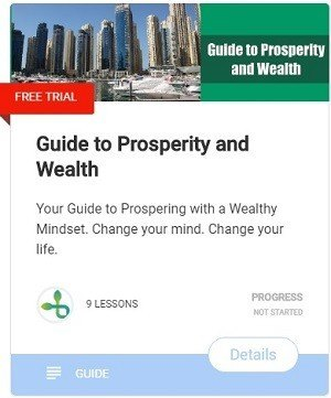 Guide to Prosperity and Wealth-course