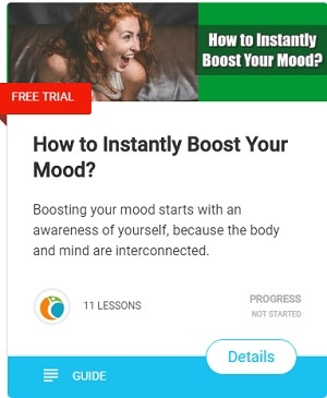 Boosting your mood starts with an awareness of yourself, because the body and mind are interconnected.