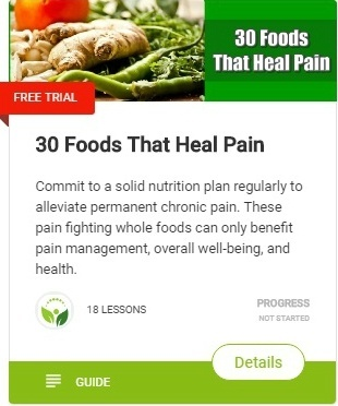 Learn which foods help with pain, pain causing inflammation and bring much wanted relief naturally!