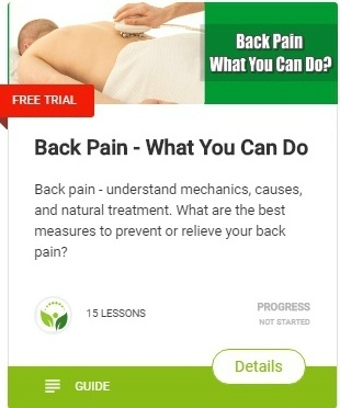 Back Pain - What You Can Do-course