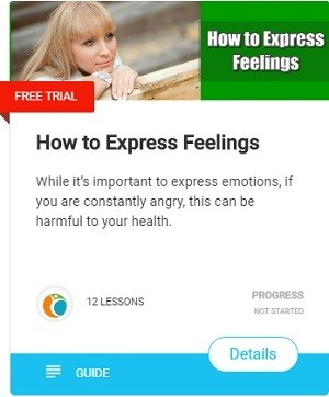 How to Express Feelings-While it's important to express emotions, if you are constantly angry, this can be harmful to your health.