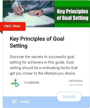 Key Principles of Goal Setting-course