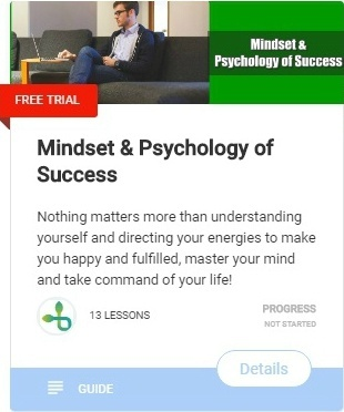 Mindset & Psychology of Success-course