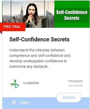 Self-Confidence Secrets genuine person leading a genuine life