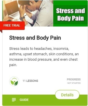 Let's look at how stress fuels body aches and pains and affects your body & health
