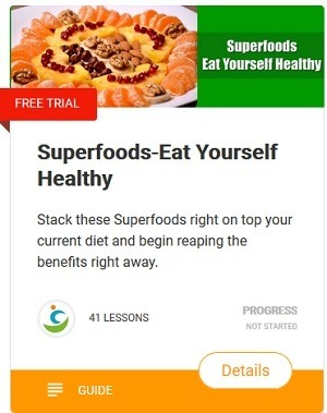 Superfoods-Eat Yourself Healthy for optimum nutrition, suppress appetite and lose weight