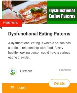 Dysfunctional eating problem